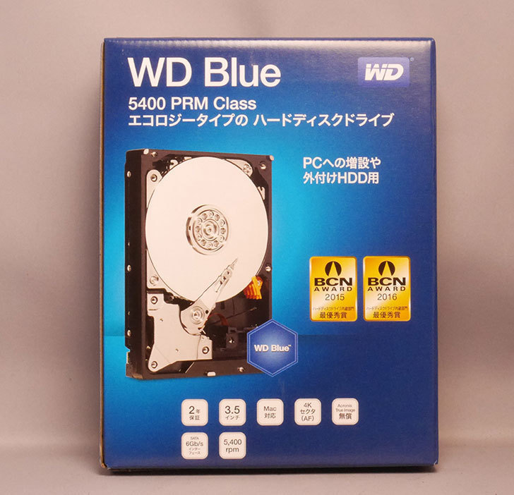 Western-Digital-WD-Blue-WD40EZRZ-RT2を買った1.jpg